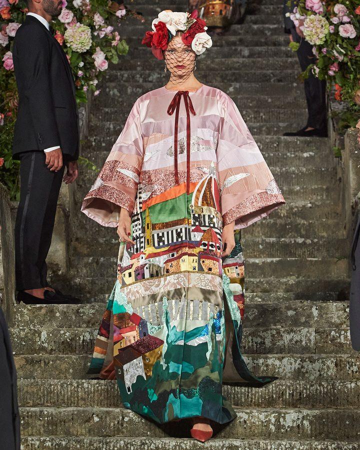 Lead make-up for Dolce & Gabbana Alta Moda Firenze
