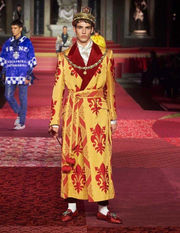 Lead make-up for Dolce & Gabbana Alta Sartoria Firenze